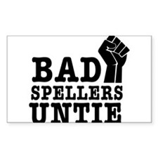 bad spellers untie Decal