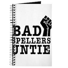 bad spellers untie Journal