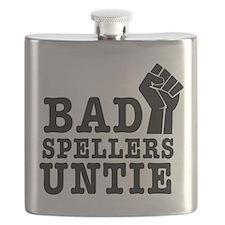 bad spellers untie Flask