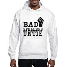 bad spellers untie Hoodie