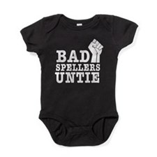 bad spellers untie Baby Bodysuit