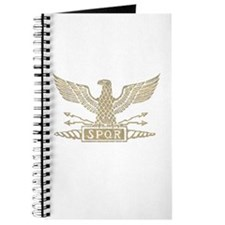 Roman Eagle Distressed Light.png Journal