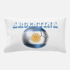 Argentina Soccer Ball Pillow Case
