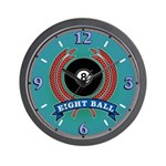 Eight Ball Wall Clock