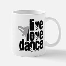 Live, Love, Dance Mugs