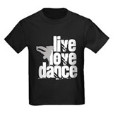 Breakdance Kids T-shirts (Dark)