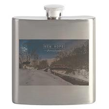 New Hope PA. Flask