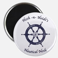 Hesh n Heidi's Nautical Nosh Magnet