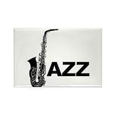 Jazz Sax Magnets