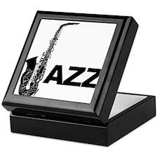 Jazz Sax Keepsake Box