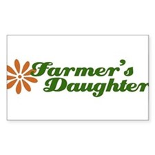 Cute Farmer girl Decal