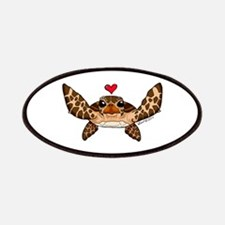 Sea Turtle Love Patches
