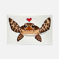 Sea Turtle Love Magnets