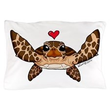 Sea Turtle Love Pillow Case