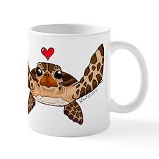 Sea Turtle Love Mugs