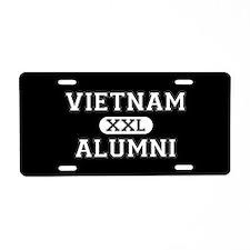 Vietnam Alumni Aluminum License Plate