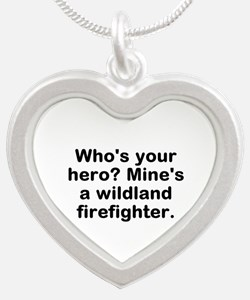 Who's Your Hero? Mine's A Silver Heart Nec