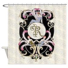 Monogram R Barbier Cabaret Shower Curtain