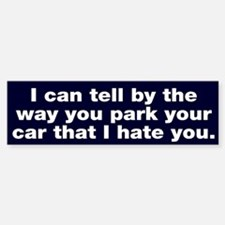 Park car Bumper Bumper Bumper Sticker