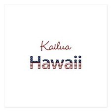Custom Hawaii 5.25 x 5.25 Flat Cards