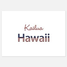 Custom Hawaii 5x7 Flat Cards