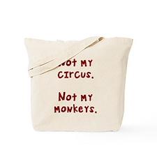 Circus monkeys Tote Bag