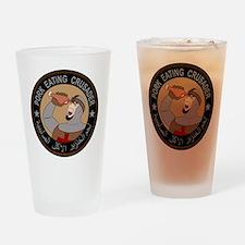 Pork Eating Crusader Drinking Glass