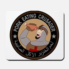Pork Eating Crusader Mousepad