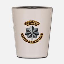 Navy - Commander - O-5 - V1 - Retired T Shot Glass