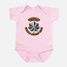 Navy - Commander - O-5 - V1 - Reti Infant Bodysuit