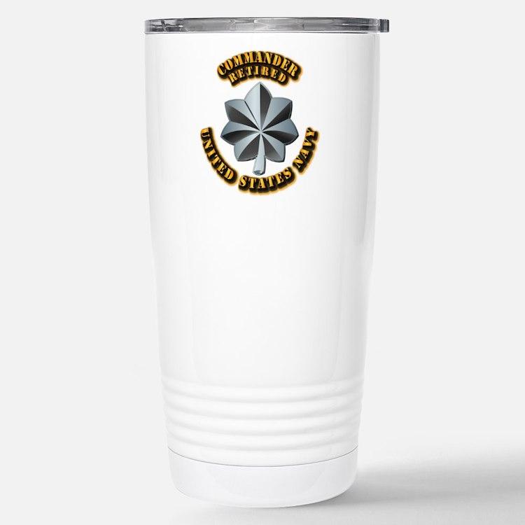 Navy - Commander - O-5 Travel Mug