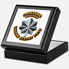 Navy - Commander - O-5 - V1 - Retired Keepsake Box