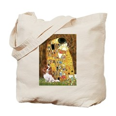 The Kiss & Cavalier Tote Bag