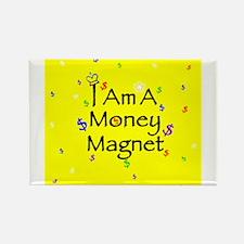 Unique Wealth affirmation Rectangle Magnet