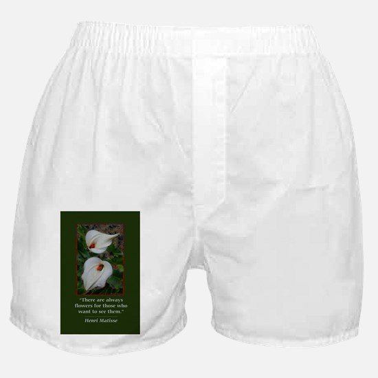 There are Always Flowers Boxer Shorts
