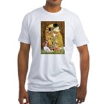 The Kiss & Cavalier Fitted T-Shirt