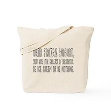 DEAR FROZEN YOGURT Tote Bag