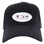 Earn. Mow. Grill. Black Cap