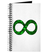 Green Infinity Symbol Journal