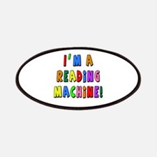 Im a Reading Machine Patches