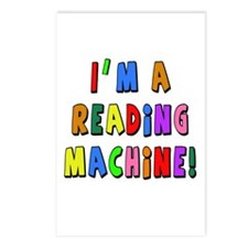 Im a Reading Machine Postcards (Package of 8)