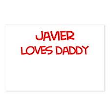 Javier Loves Daddy Postcards (Package of 8)
