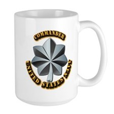 Navy - Commander - O-5 - V1 - w Text Mug