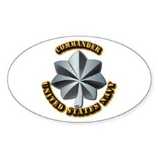 Navy - Commander - O-5 - V1 - w Tex Decal