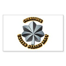 Navy - Commander - O-5 - Decal
