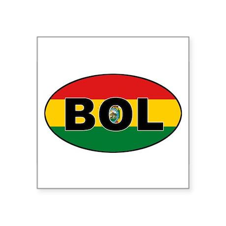 BOL-flag-oval Sticker