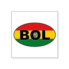 BOL-flag-oval Sticker