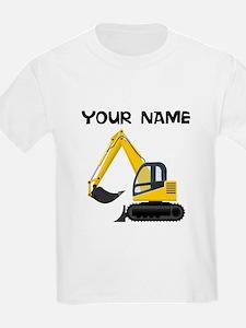 Custom Excavator T-Shirt