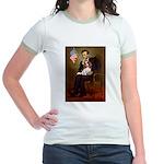 Lincoln's Cavalier Jr. Ringer T-Shirt