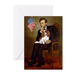 Lincoln's Cavalier Greeting Cards (Pk of 10)